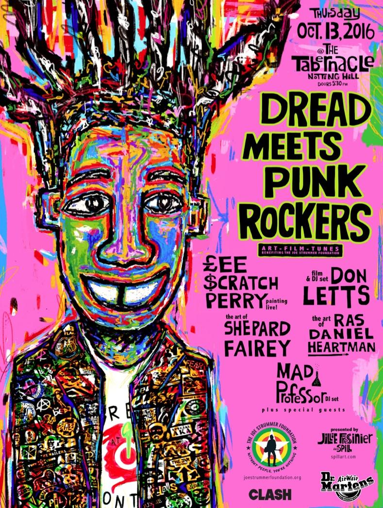 Dread Meets Punk Rockers: A benefit fundraiser for the Joe Strummer Foundation