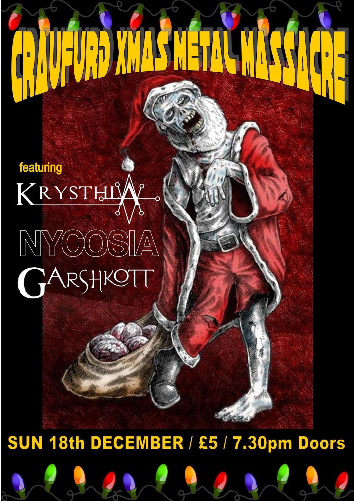Craufurd Christmas Metal Massacre