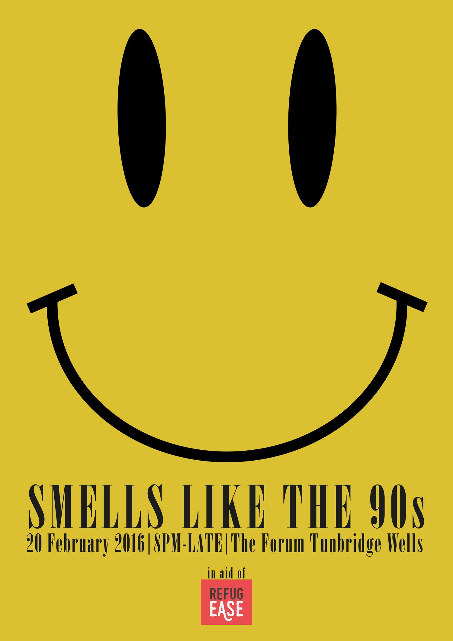 "Refugease presents : ""Smells like the 90s"""