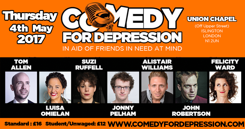 Comedy For Depression 2017