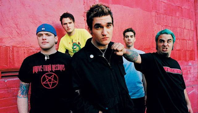 New Found Glory (playing 'Nothing Gold Can Stay' & 'Coming Home' album)
