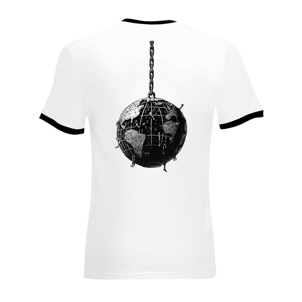 Wrecking Ball Ringer Tee - Rage Against the Machine