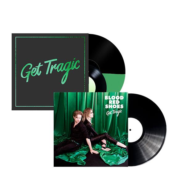 GET TRAGIC - DELUXE LP (SIGNED) & REGULAR LP - Blood Red Shoes