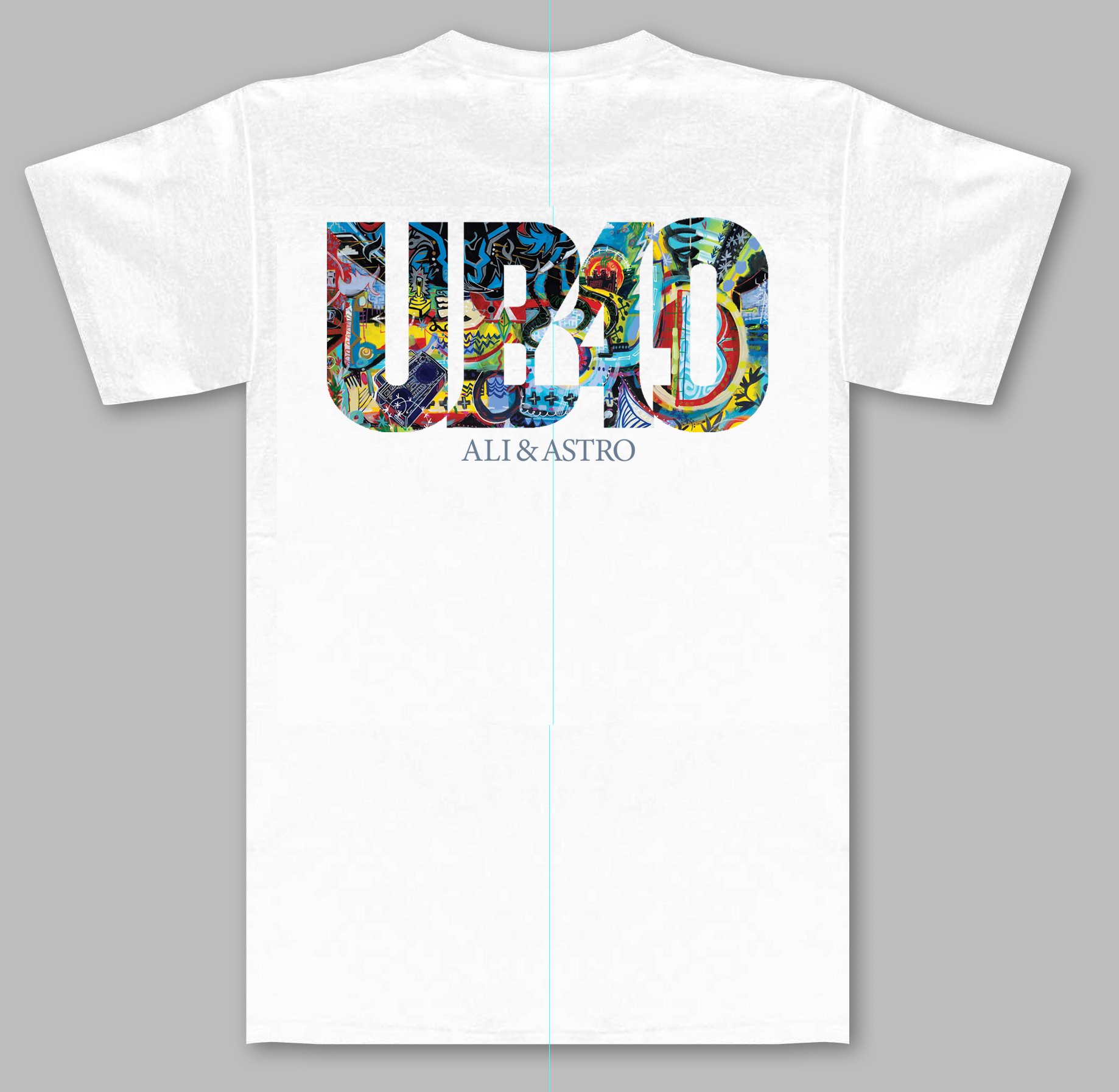Real Laber of Love (Ali & Astro) - White Tee - UB40