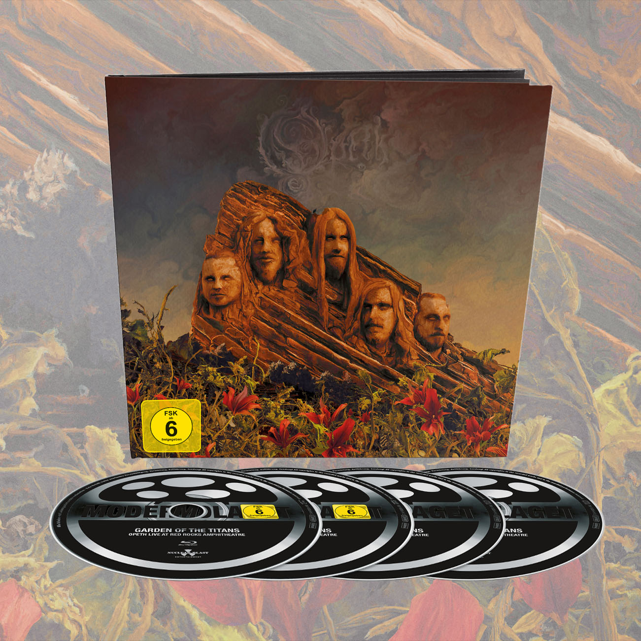 Opeth - 'Garden Of The Titans (Opeth Live at Red Rocks)' Earbook Edition - Opeth