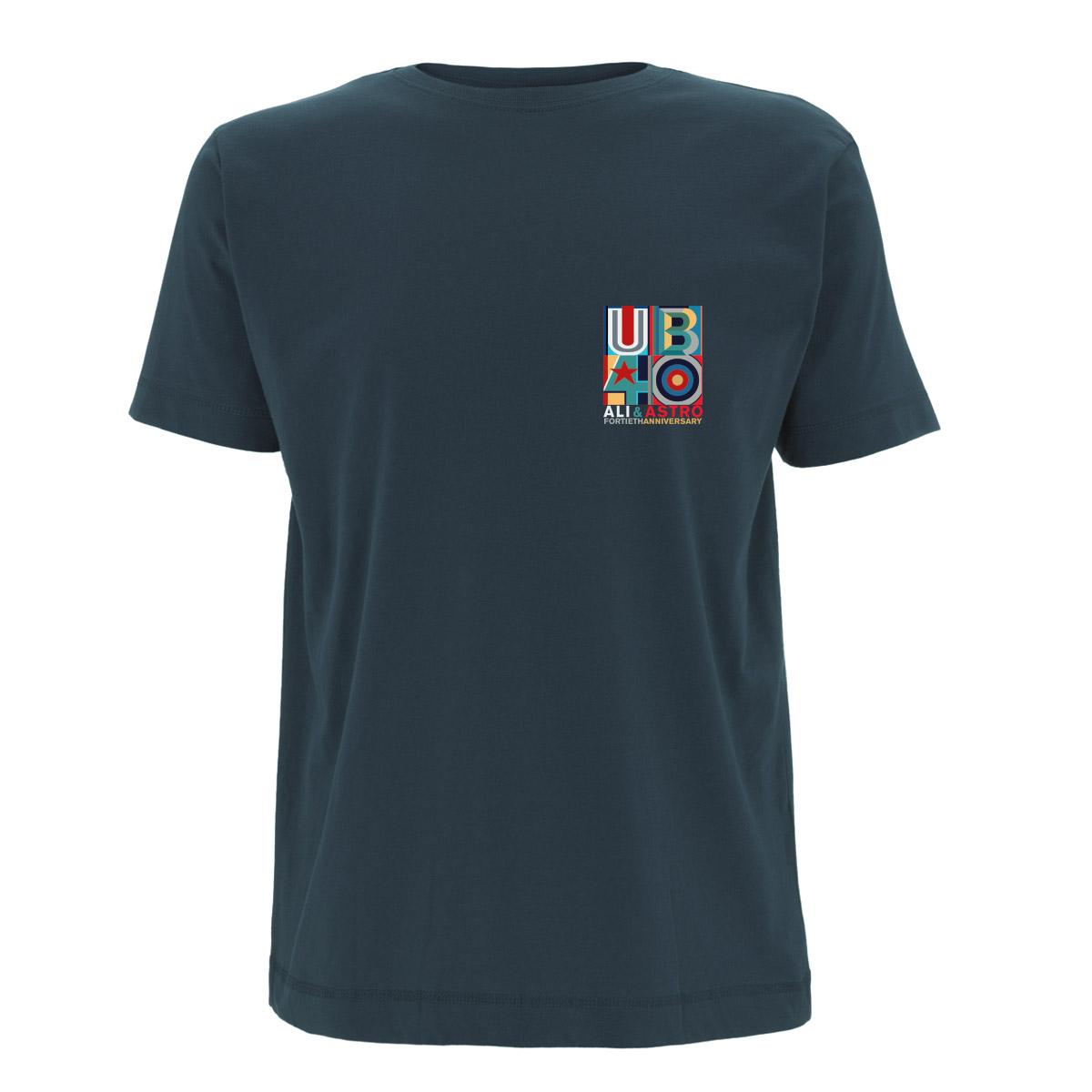 Square Anniversary - Dateback Blue Tee - UB40