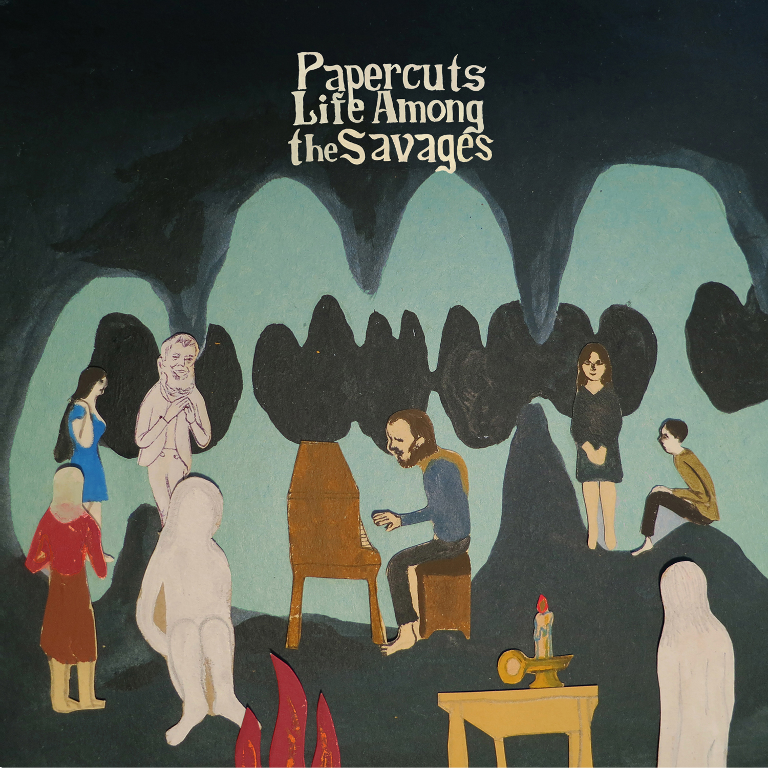 """Papercuts - Life Among the Savages 12"""" LP - Easy Sound Recording Company"""