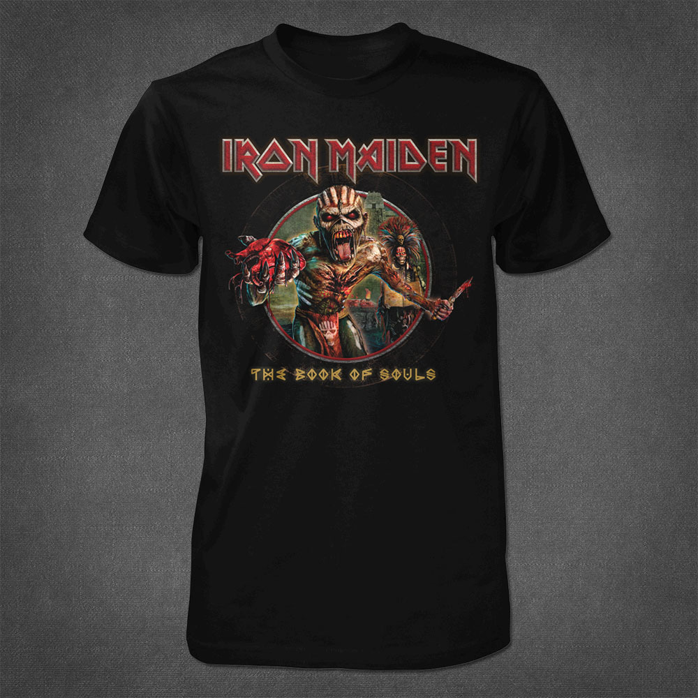 Book Of Souls Eddie Tee - Iron Maiden [Global USA]