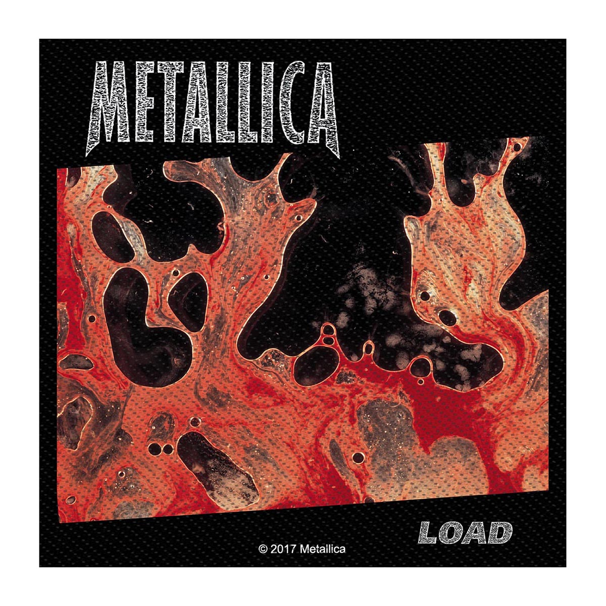 Load – Woven Patch - Metallica