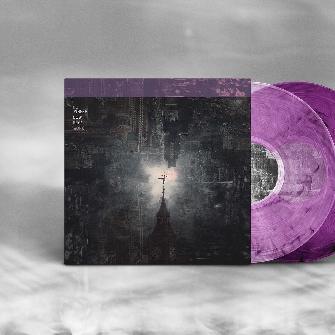 MONO - 'Nowhere Now Here' Purple Smoke Vinyl - MONO