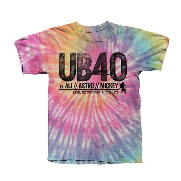 Rainbow Logo Tie Dye Tee - UB40