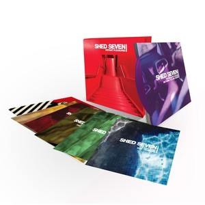 """Instant Pleasures 7"""" Vinyl Single Box Set - Shed Seven"""