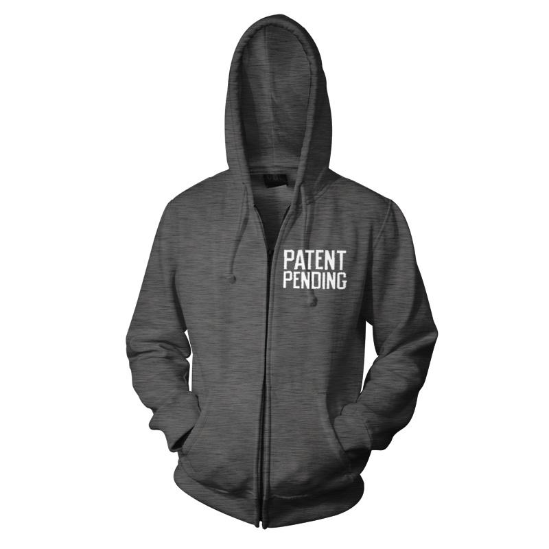 Long Beach – Heather Grey Zip Hood - Patent Pending