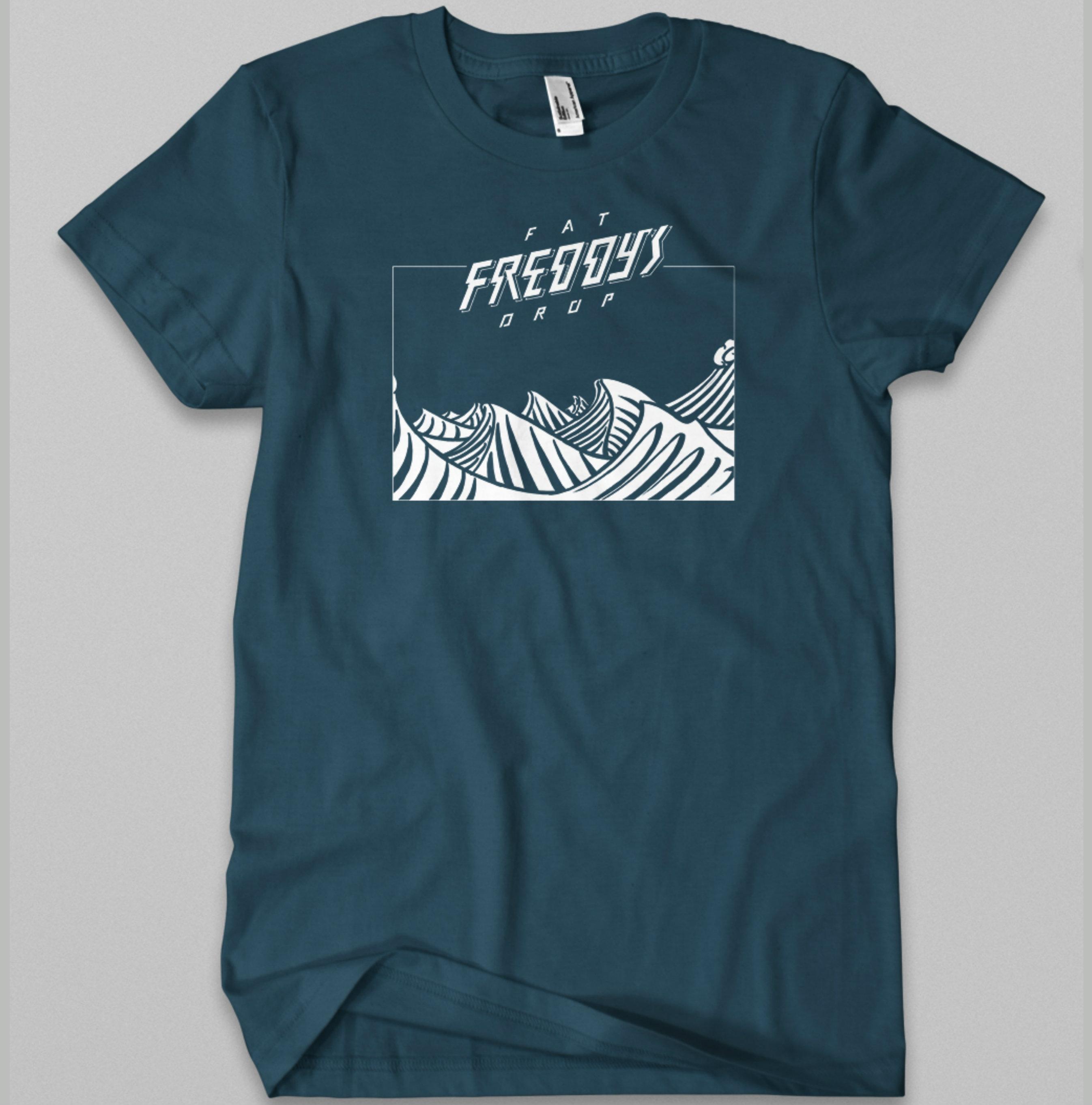 Waves T-shirt - Fat Freddy's Drop