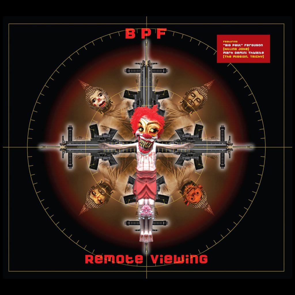 BPF- Remote Viewing EP (CD) - Killing Joke
