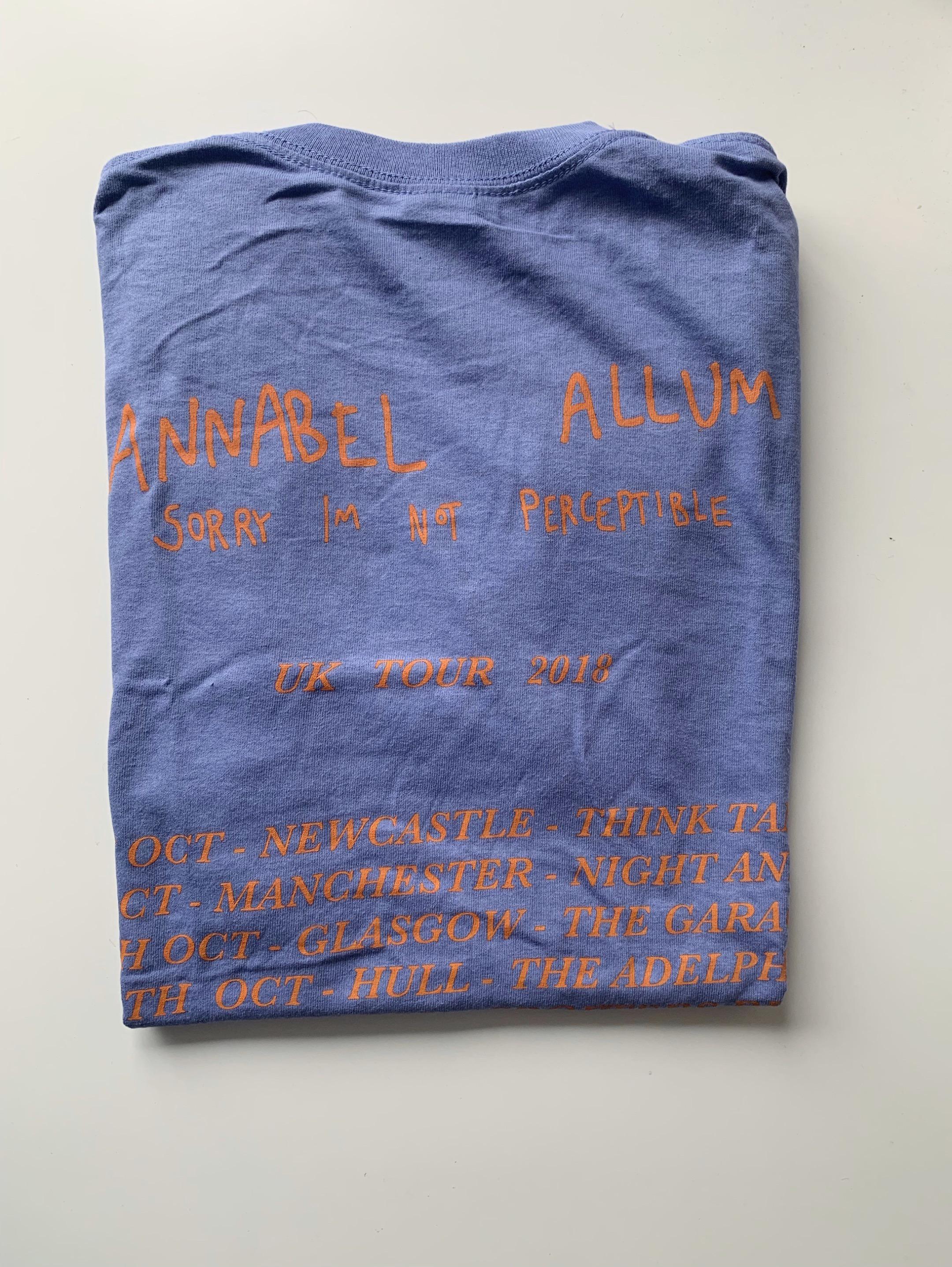 Tour Tee (Lilac) - Annabel Allum