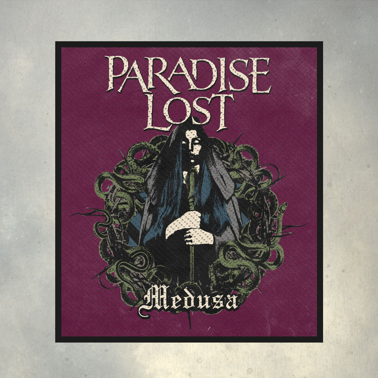 Paradise Lost - 'Medusa' Woven Patch - Paradise Lost