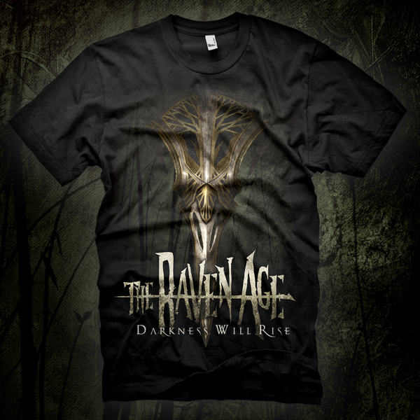 Darkness Will Rise - T-Shirt - The Raven Age