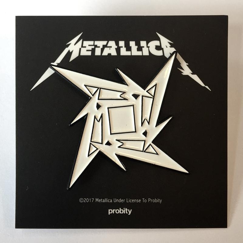 Ninja Star – Enamel Badge - Metallica