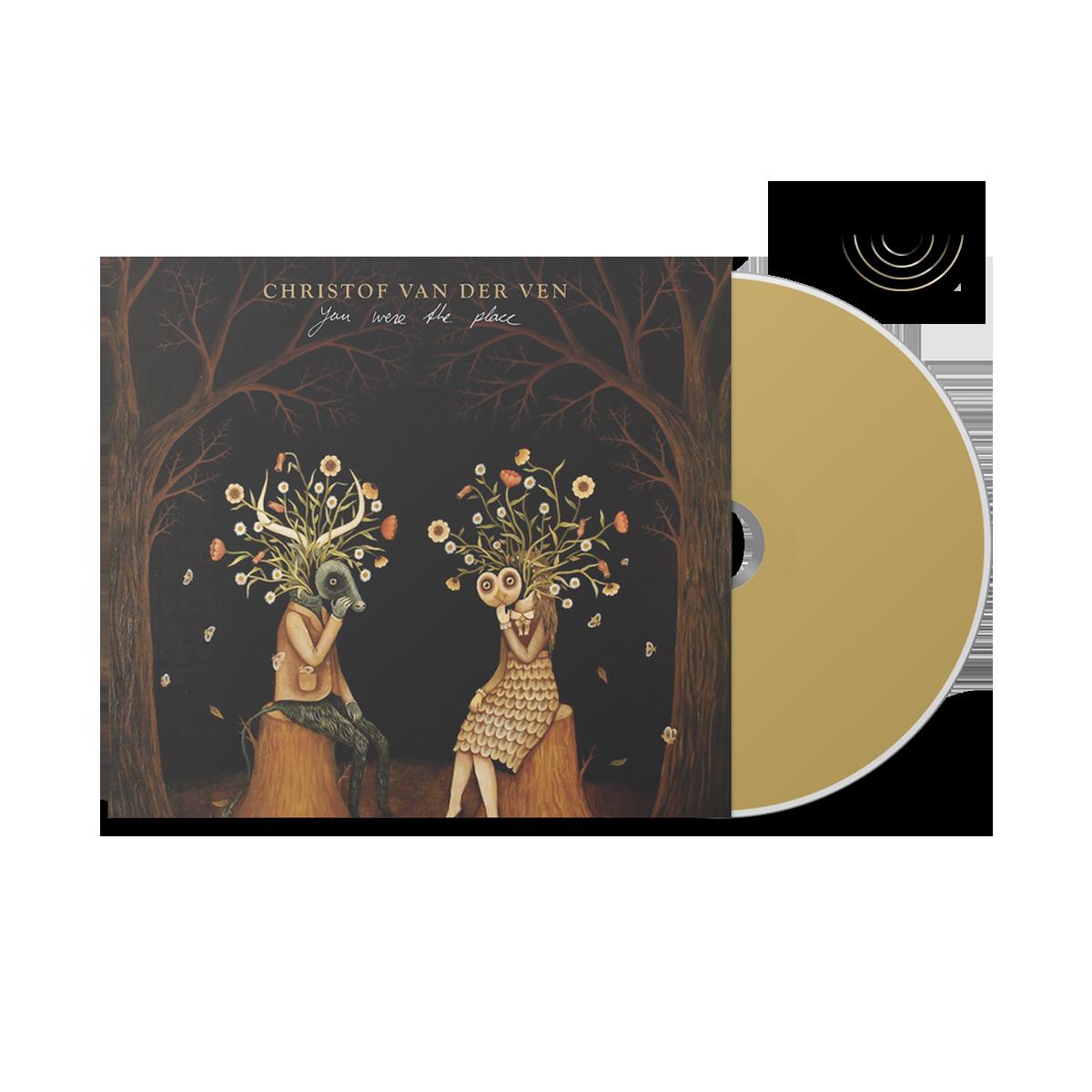 You Were The Place [SIGNED CD] - CHRISTOF VAN DER VEN