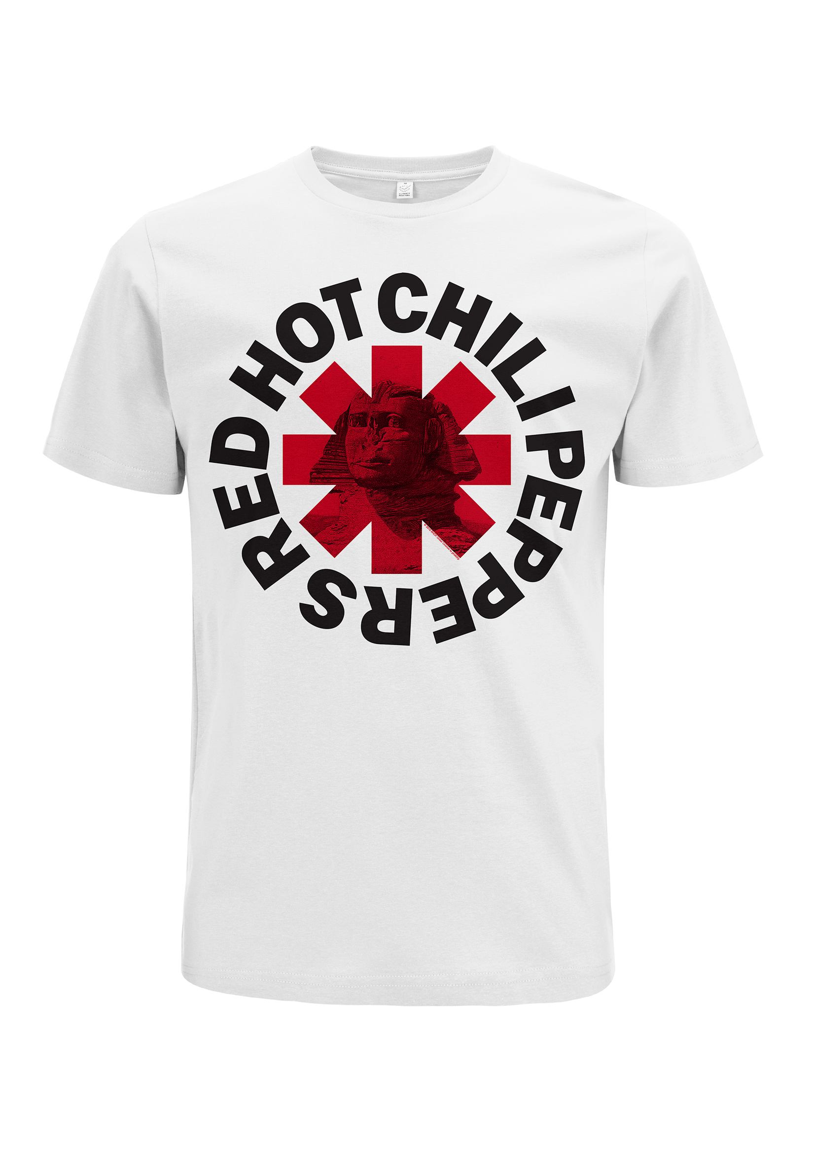Sphinx Asterisk - White Tee - Red Hot Chili Peppers