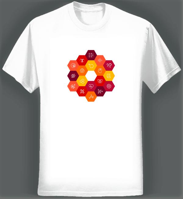 Virtual Choir 5 STEAM T-shirt (Men/White) - Eric Whitacre