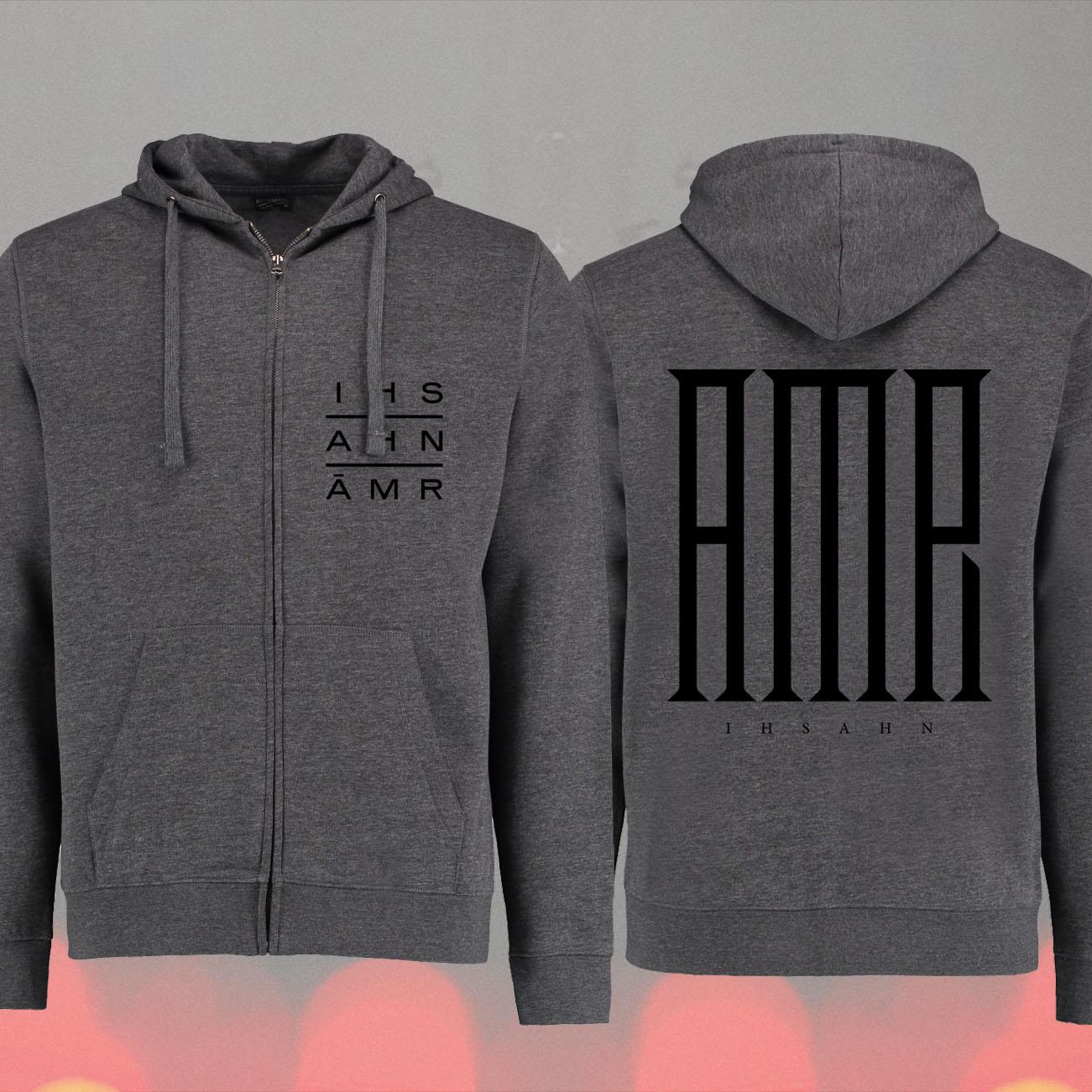Ihsahn - 'Àmr Logo' Zipped Hoody - Ihsahn