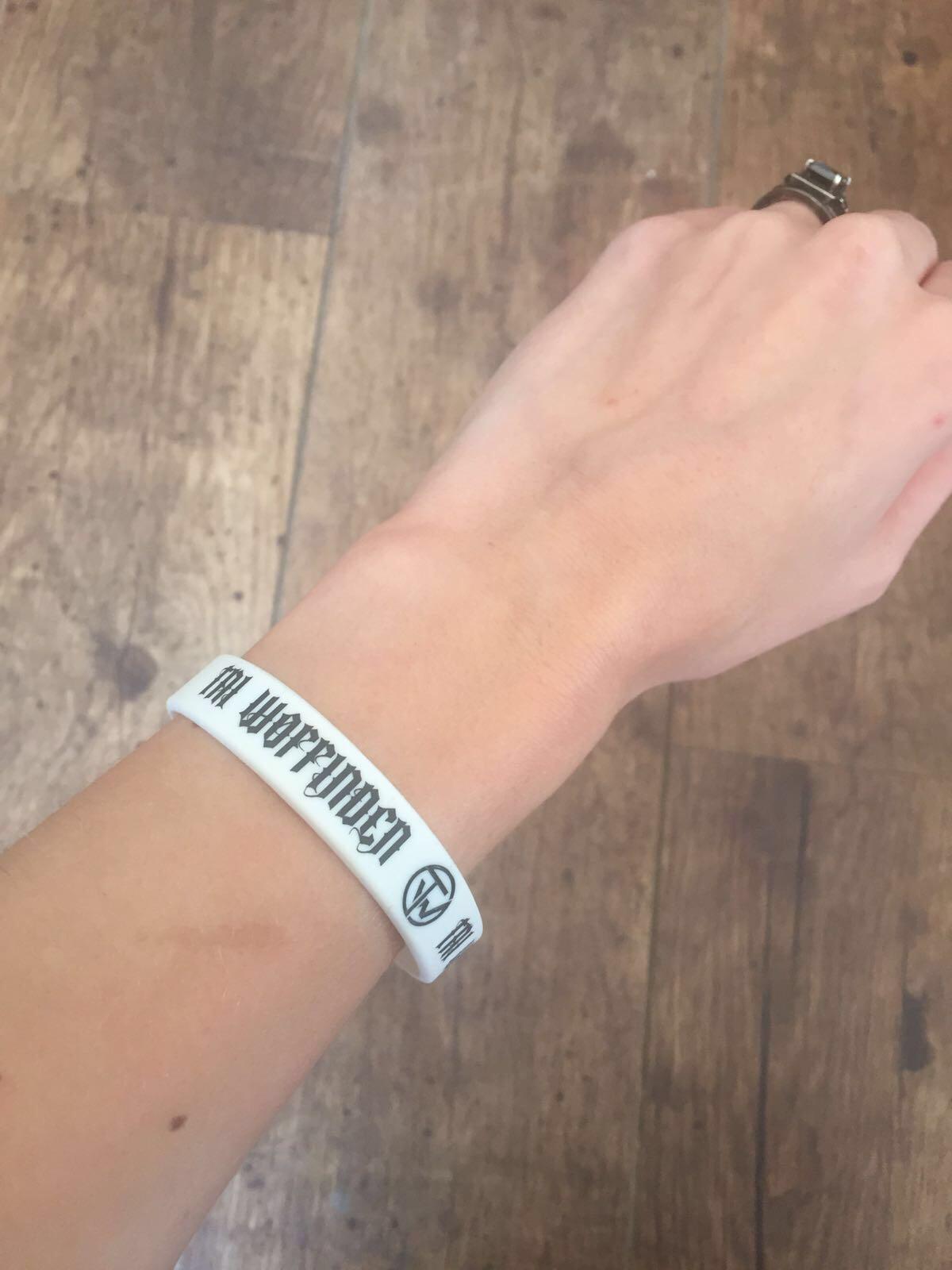 Wristband (White) - Tai Woffinden