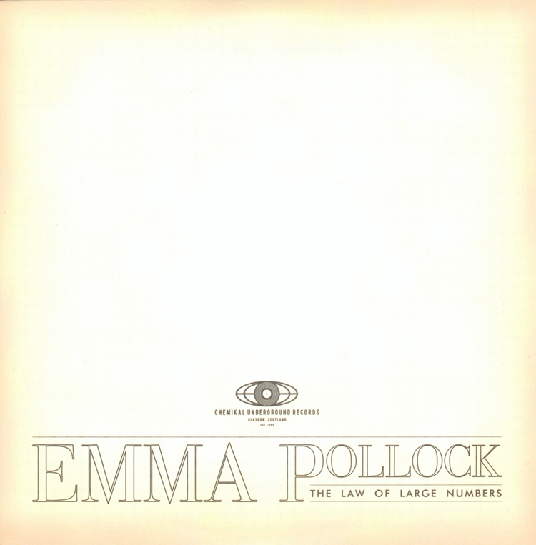 Emma Pollock - The Law Of Large Numbers - CD Album (2010) - Emma Pollock