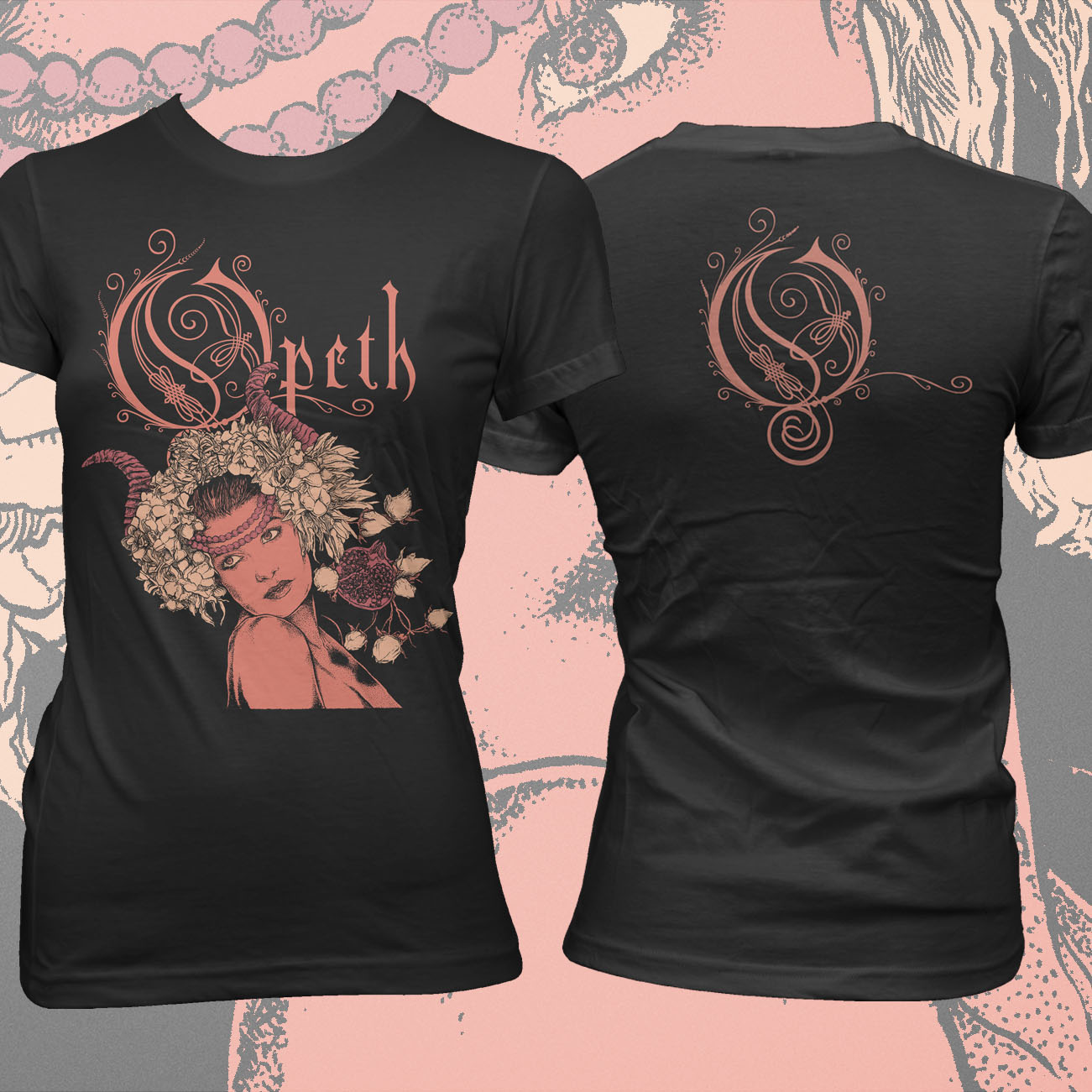 Opeth - Persephone Fitted T-Shirt - Opeth