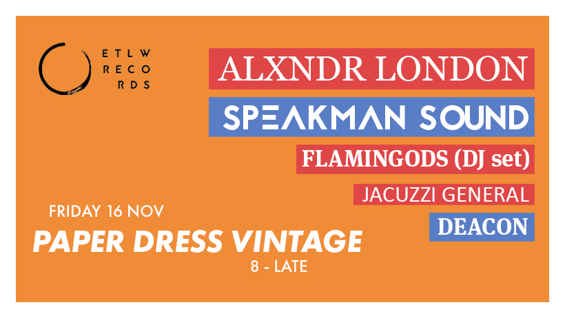 Ears To Learn With ft ALXNDR LONDON, Speakman Sound + at