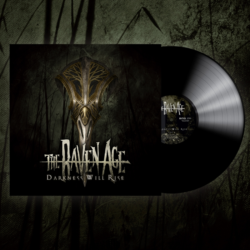 Darkness Will Rise - Vinyl Album - The Raven Age