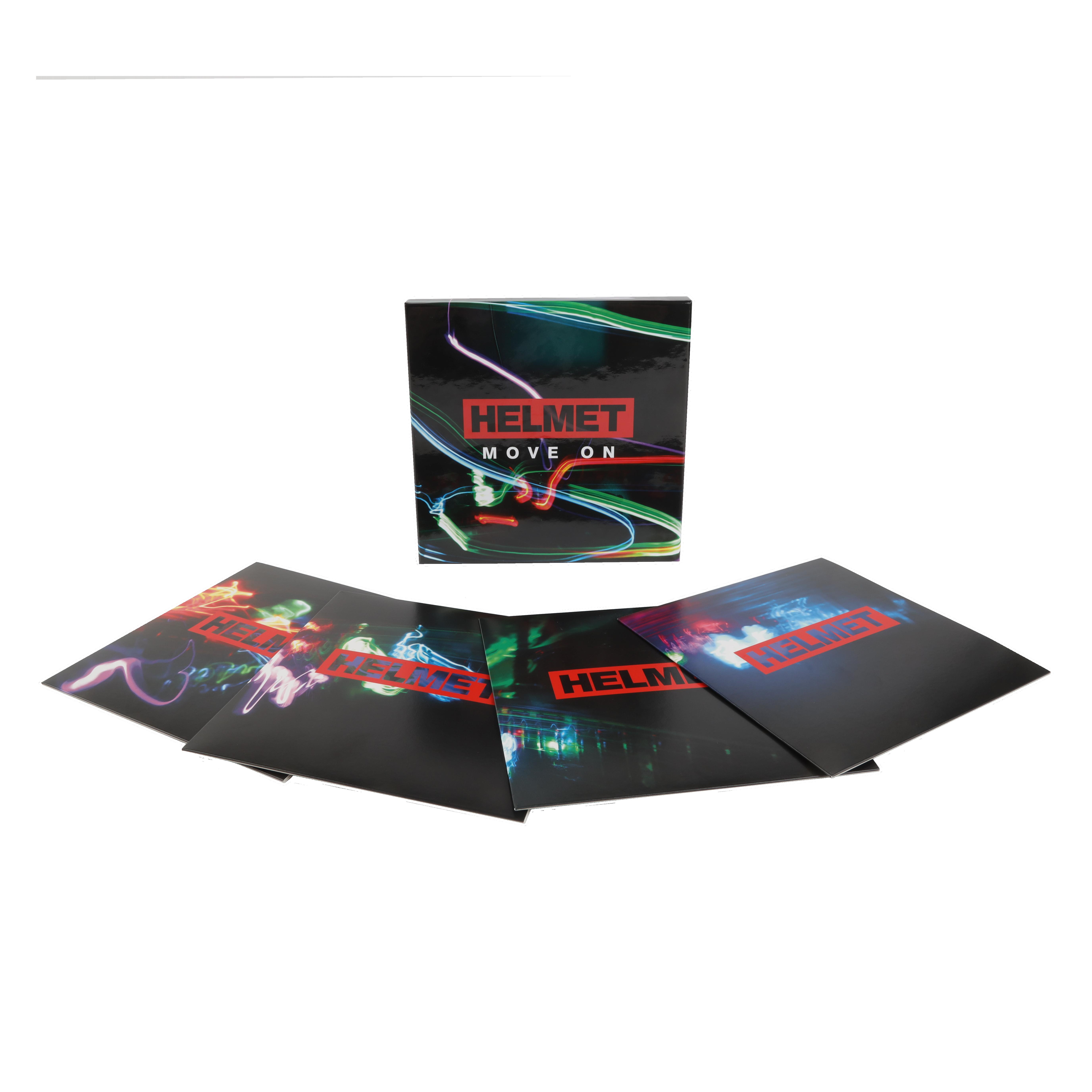 "Move On: 4 x 7"" Box Set (Limited Edition) - Helmet"