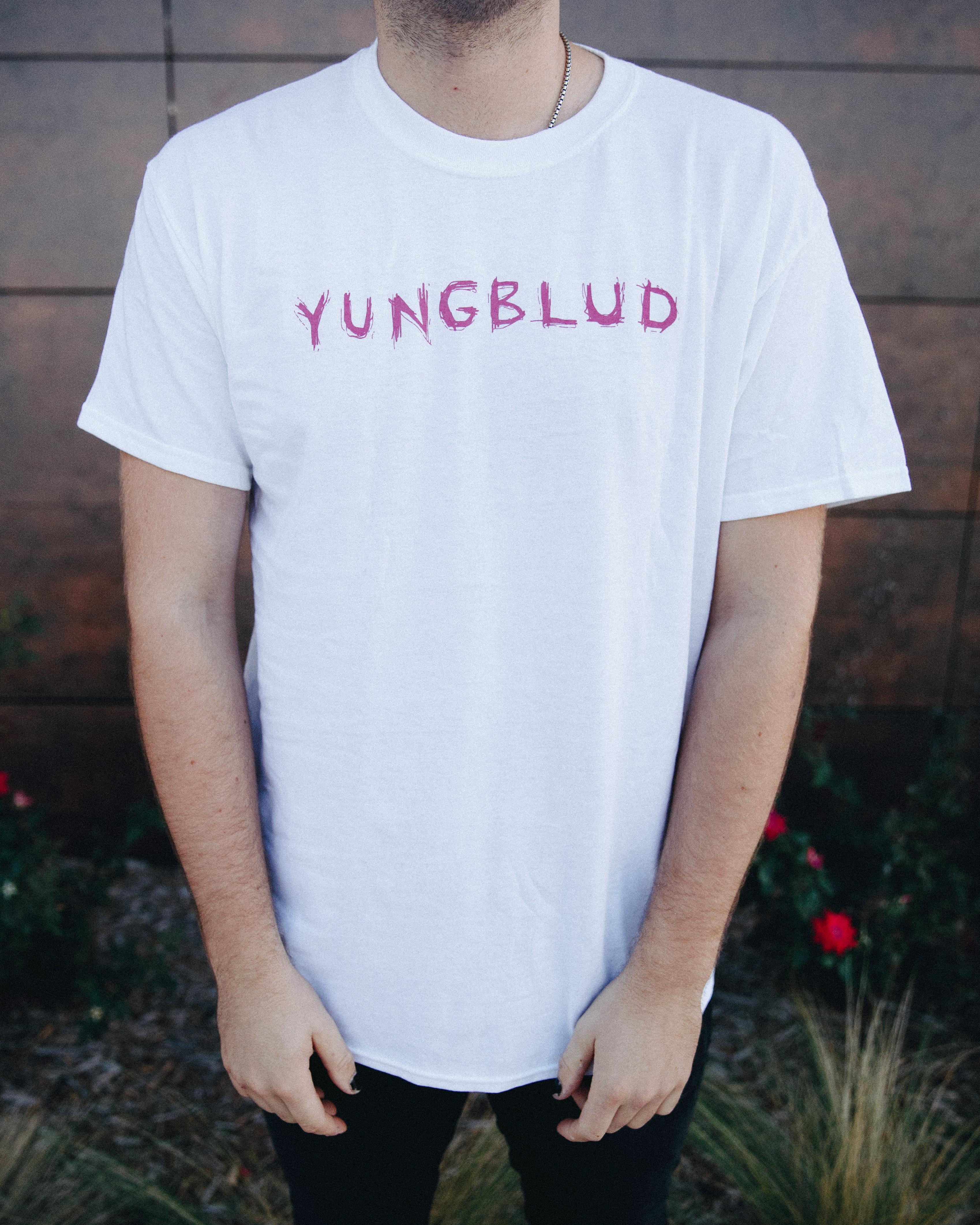 21CL T-Shirt - White - YUNGBLUDUSA