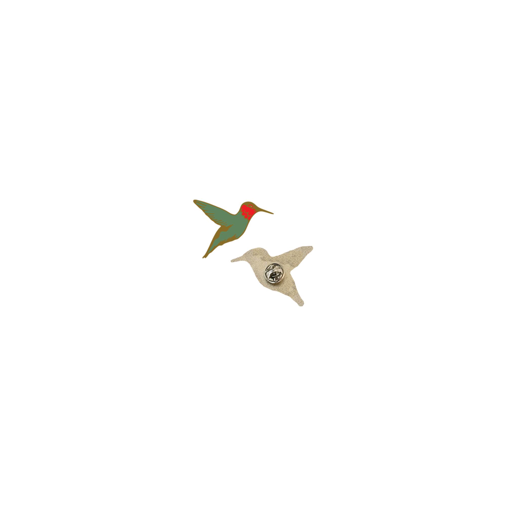 Bedouine – 'Bird Songs of a Killjoy' – Hummingbird enamel pin - Spacebomb Records