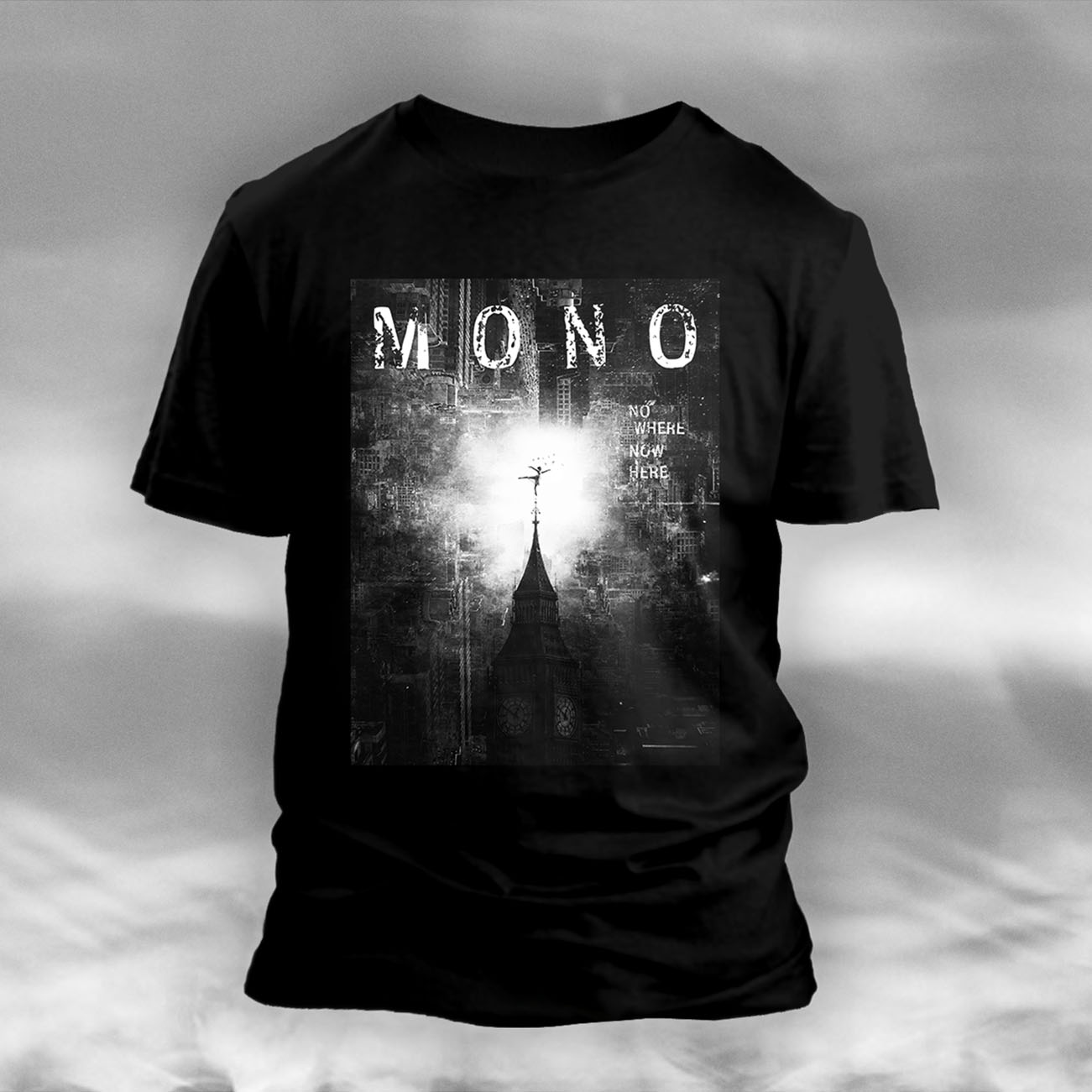 MONO - 'Nowhere Now Here' T-Shirt - MONO