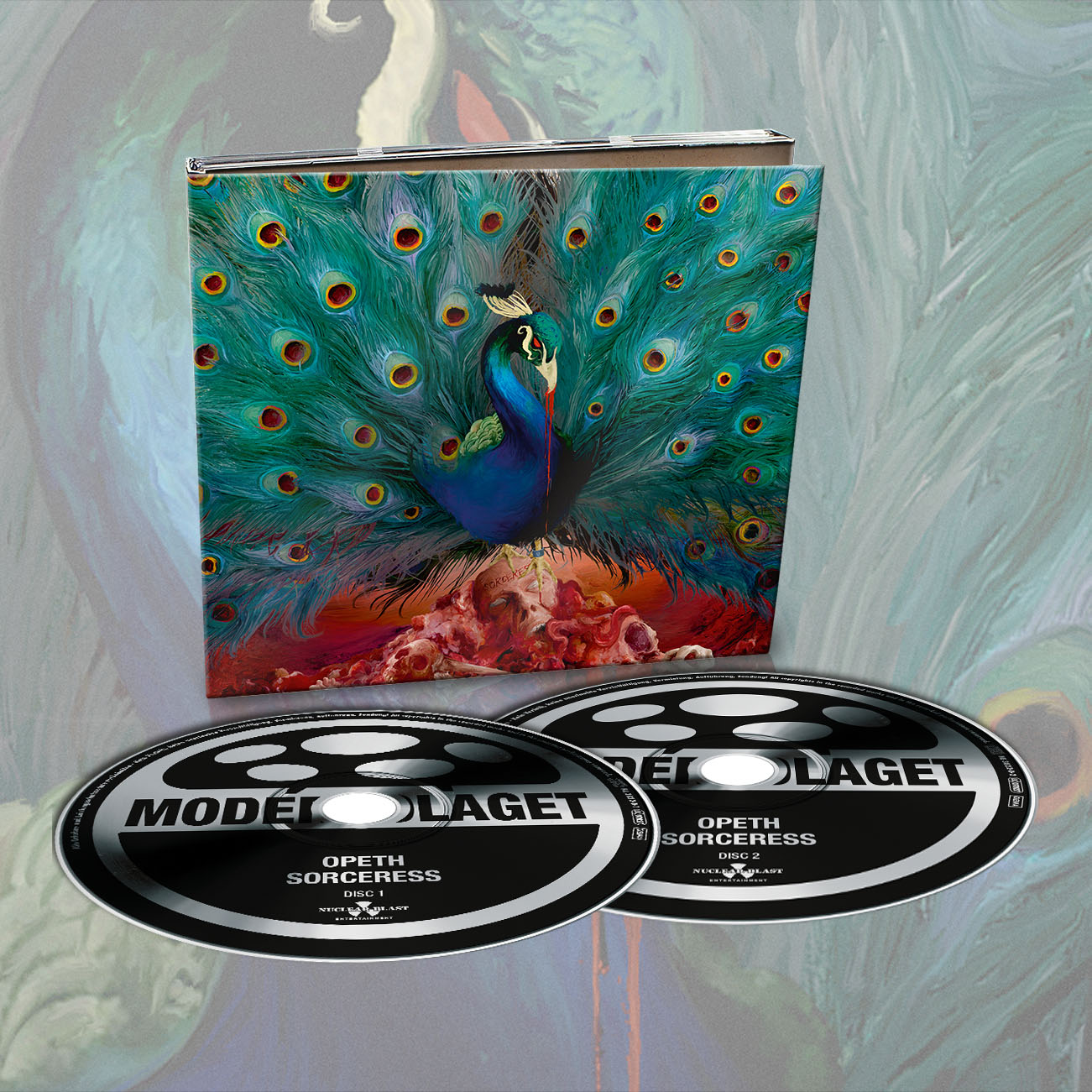Opeth - 'Sorceress' Limited Edition Digipak - Opeth