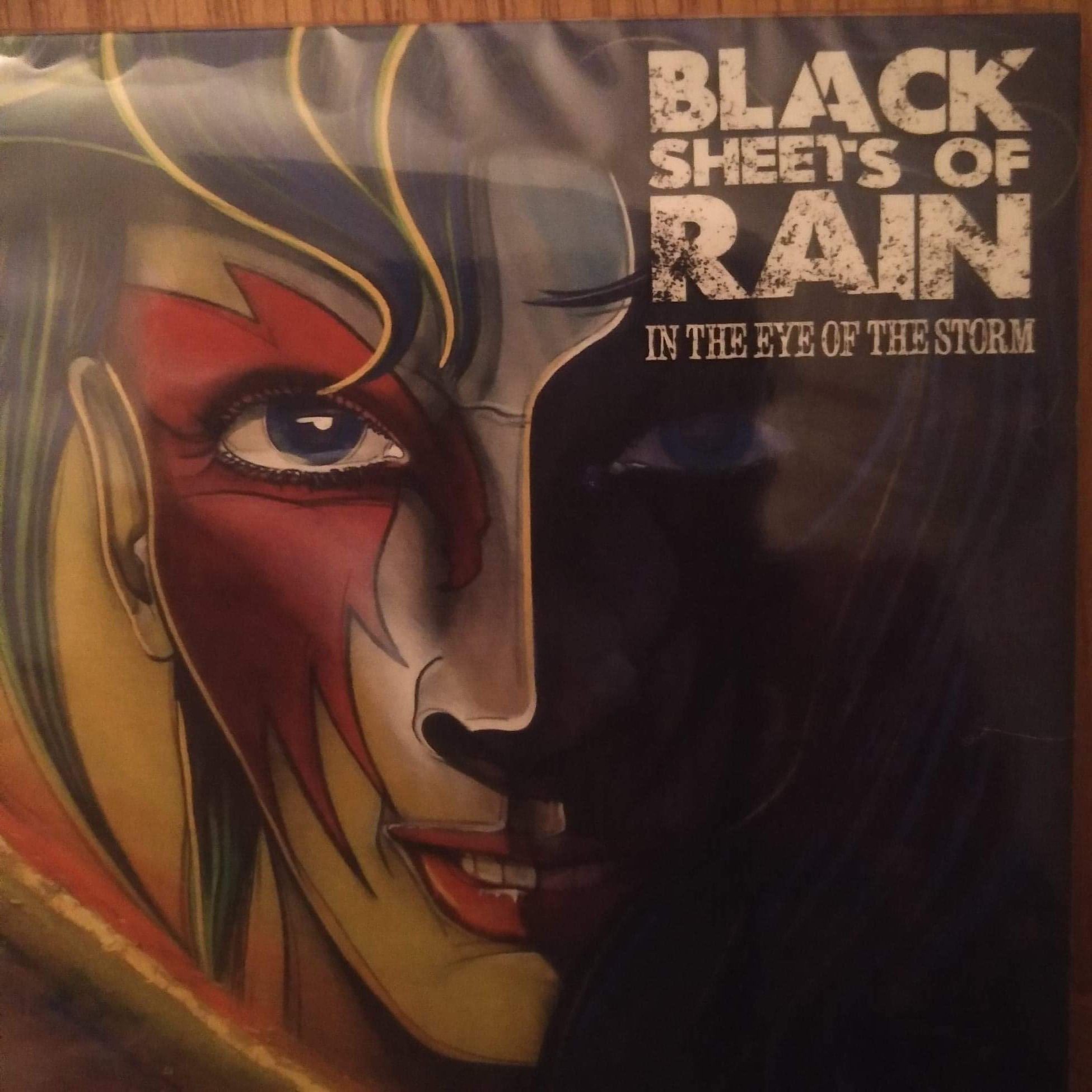 In The Eye of The Storm EP Digipack + free digital download - Black Sheets of Rain