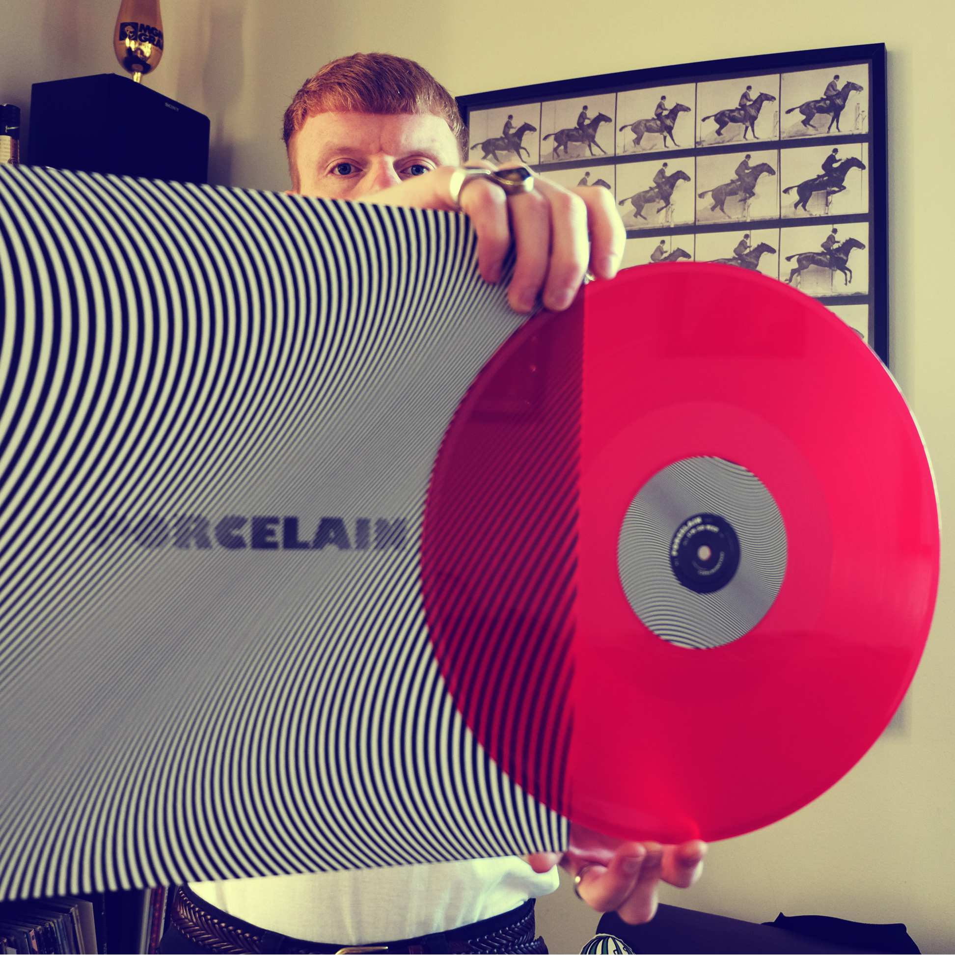 "AVALANCHE PARTY - PORCELAIN [12"" RED VINYL] - Clue Records"