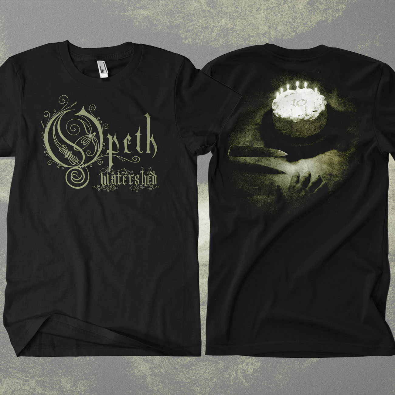 Opeth - 'Watershed' 10th Anniversary T-Shirt - Opeth
