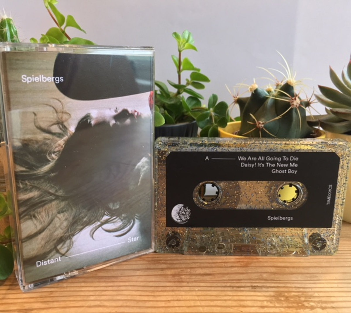 Spielbergs - Distant Star EP - Ltd Edition Cassette Tape - By The Time It Gets Dark