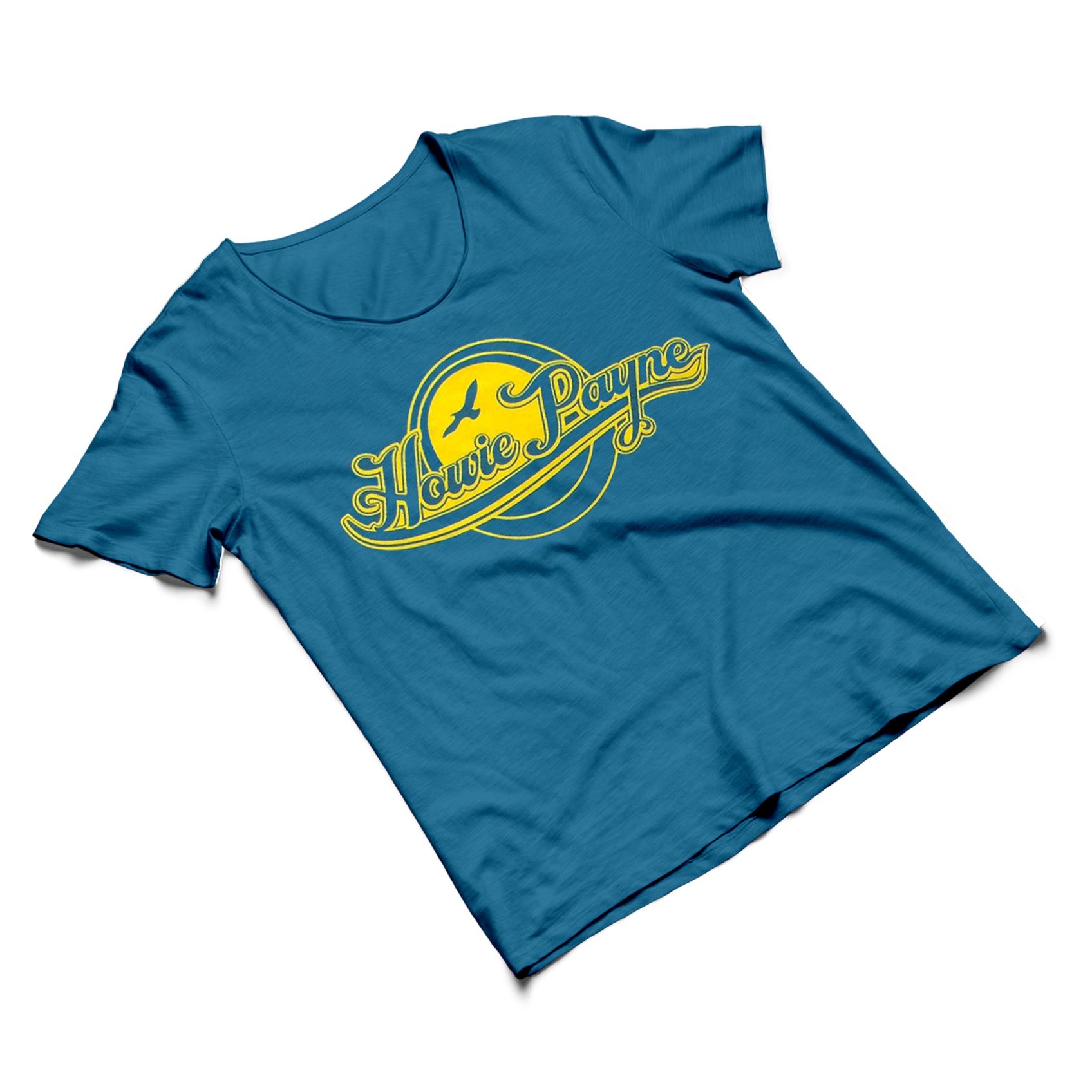 T-Shirt - Blue/Gold Logo - Howie Payne