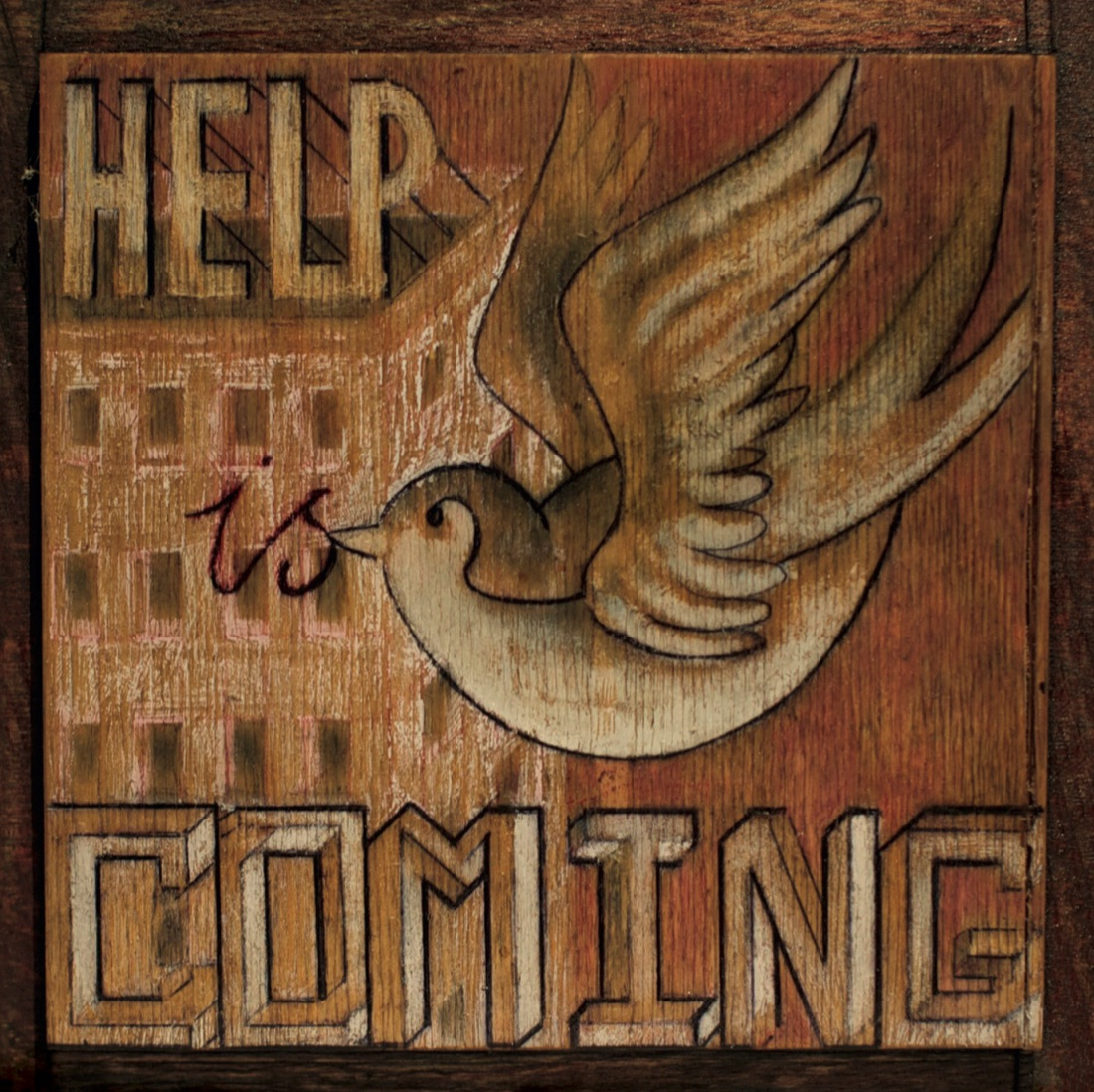 """Crowded House - """"Help Is Coming"""" Charity Single: Vinyl - Save The Children"""