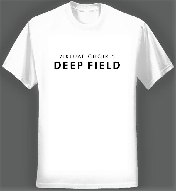 Virtual Choir 5 Logo T-shirt (Men/White) - Eric Whitacre