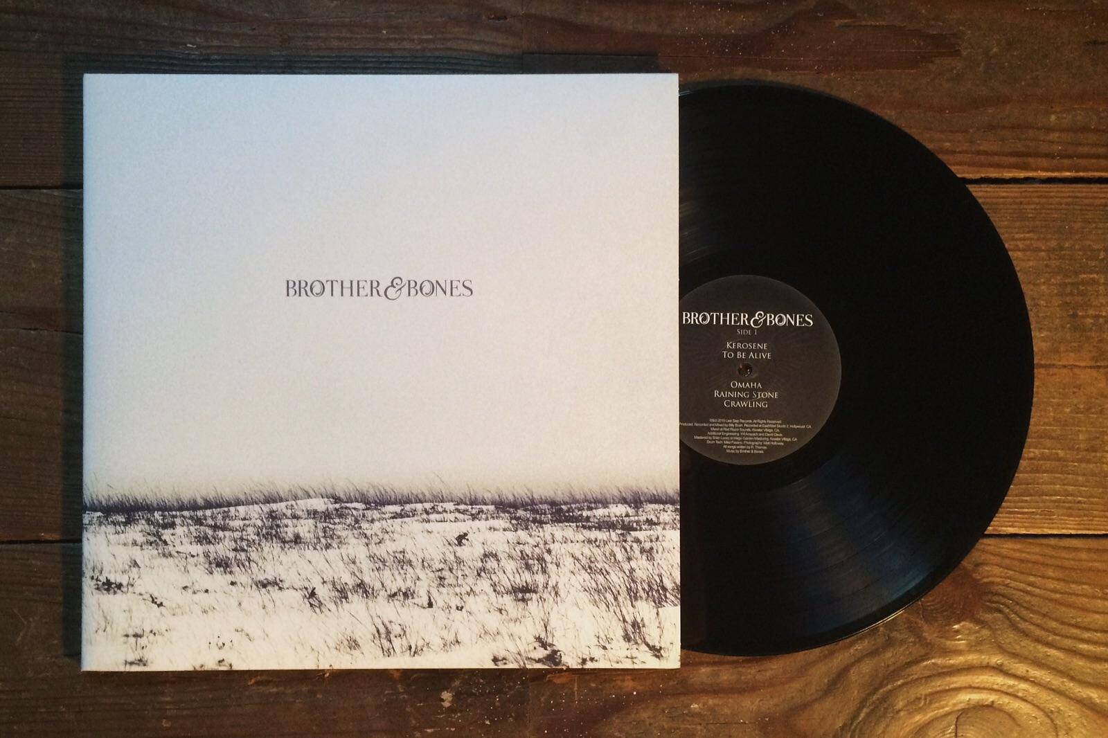 """'Brother & Bones' 12"""" VINYL - ALBUM - Brother & Bones"""