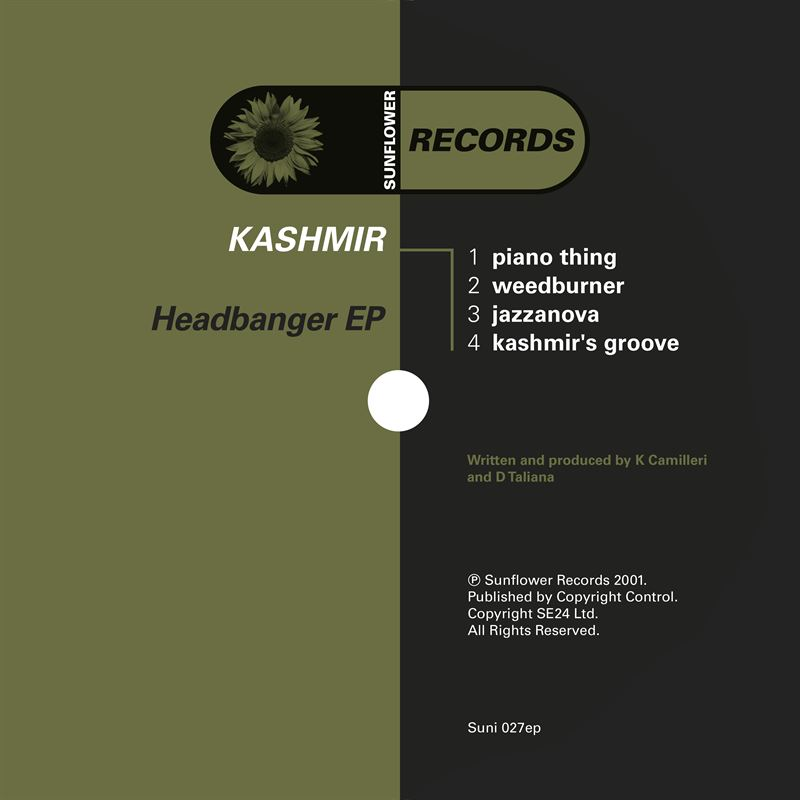 Kashmir - Headbanger [SUNI027] - Sunflower Records