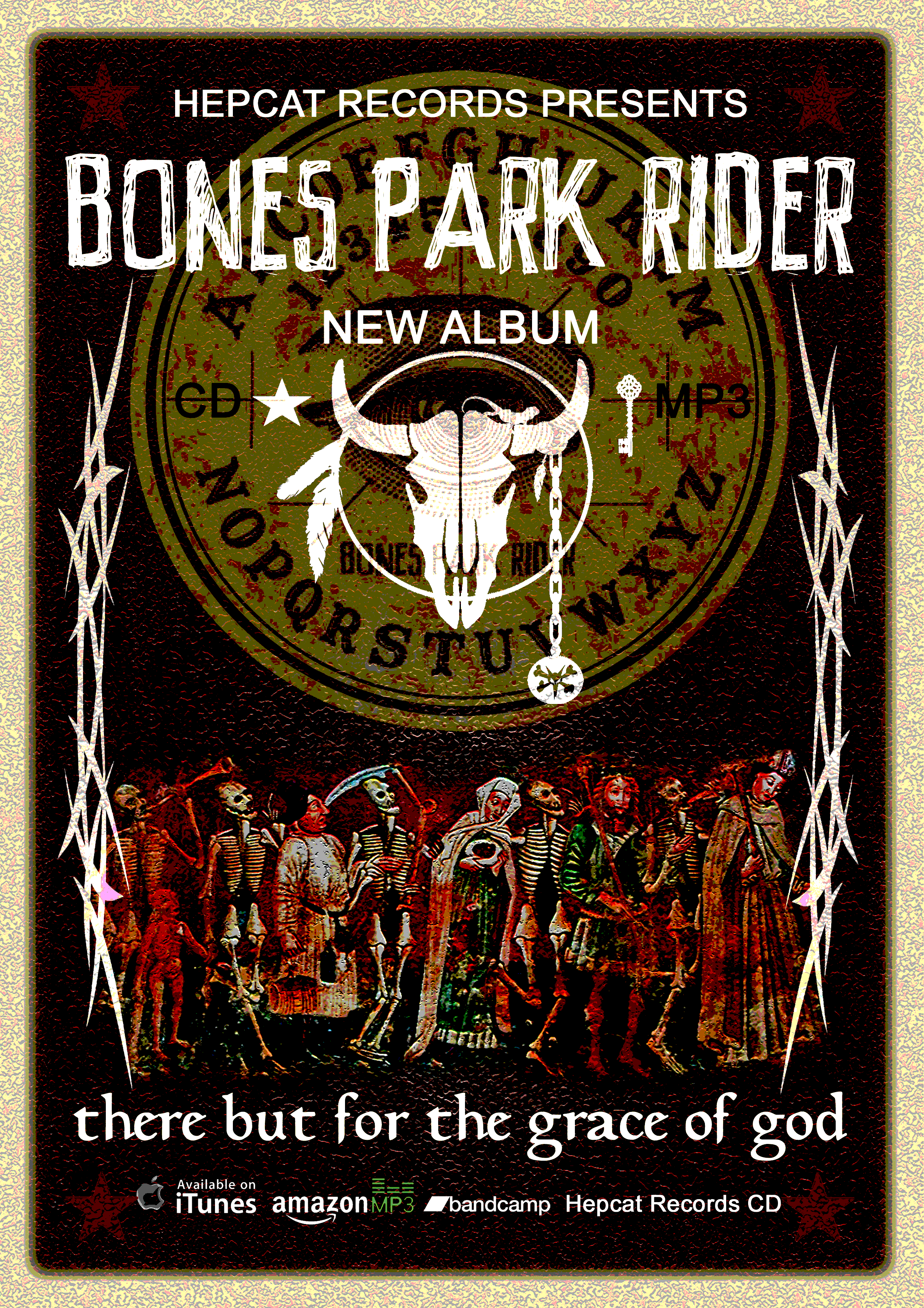 Posters (set of two) - Bones Park Rider