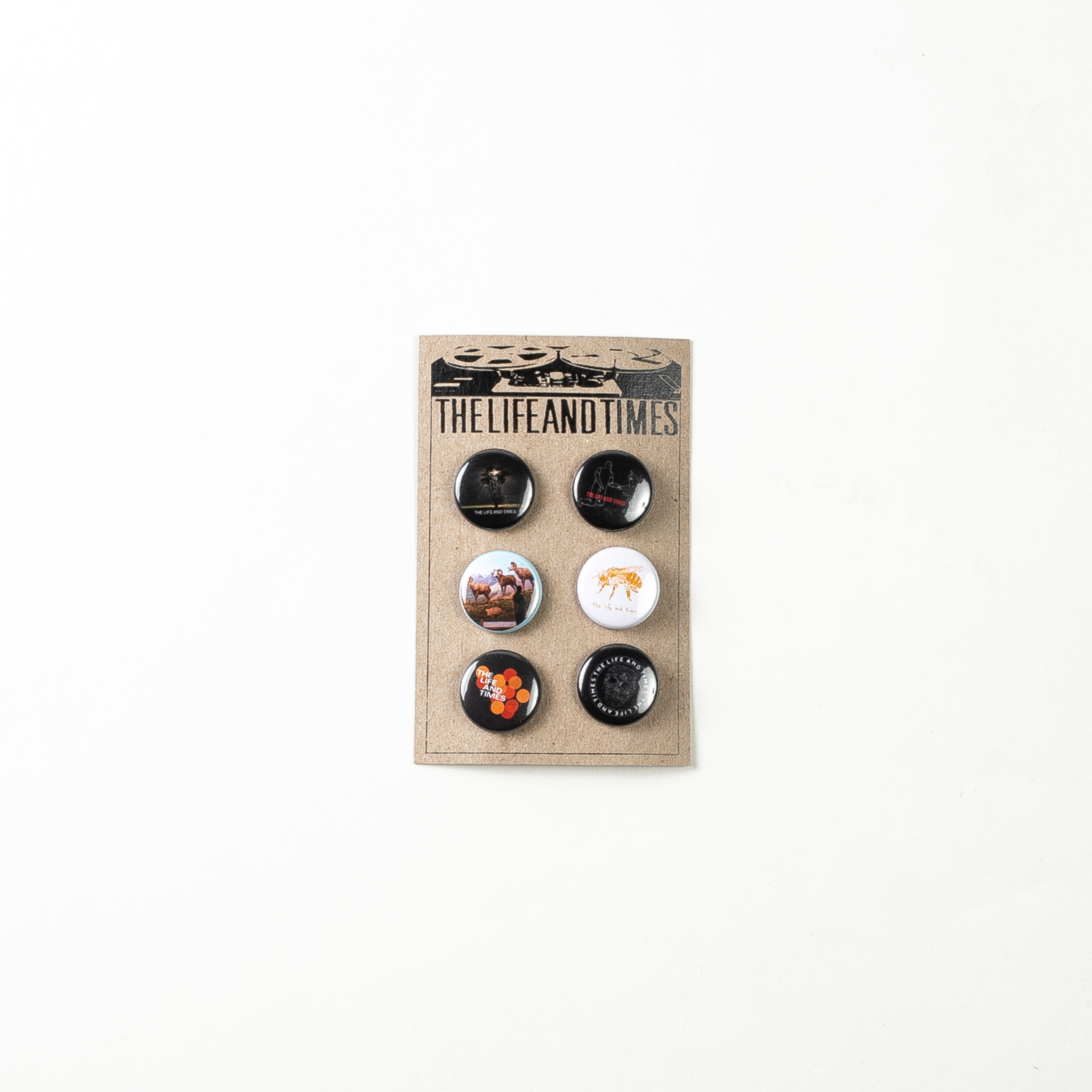 Button Pack - The Life and Times
