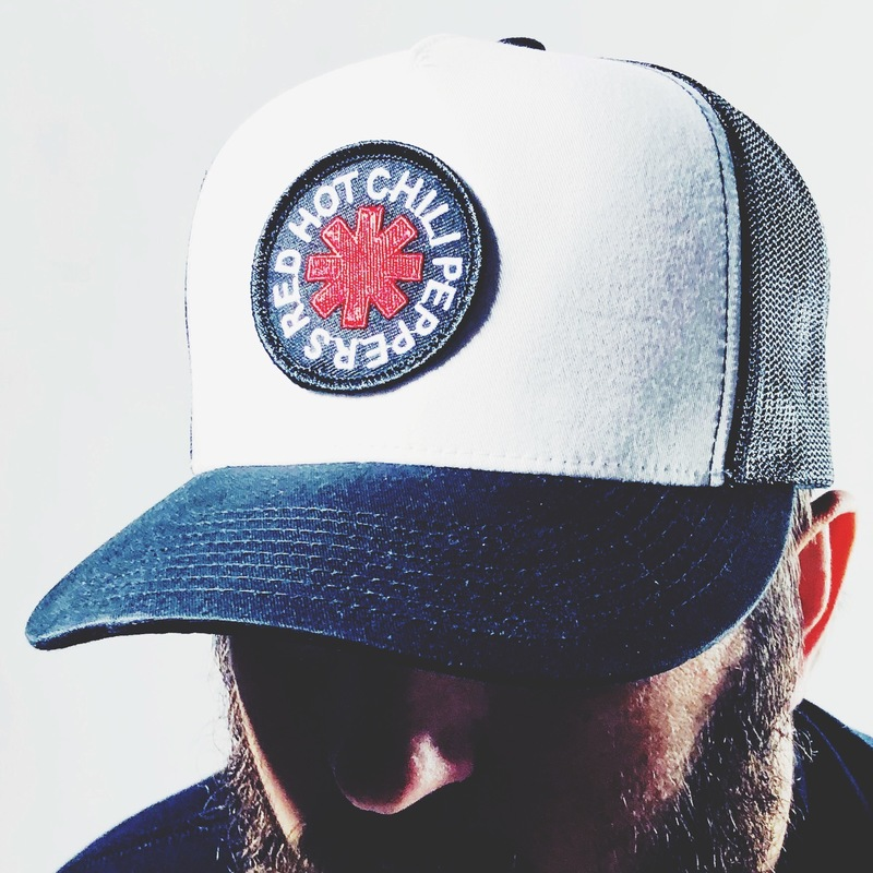 Patch Black/White Trucker Cap - Red Hot Chili Peppers