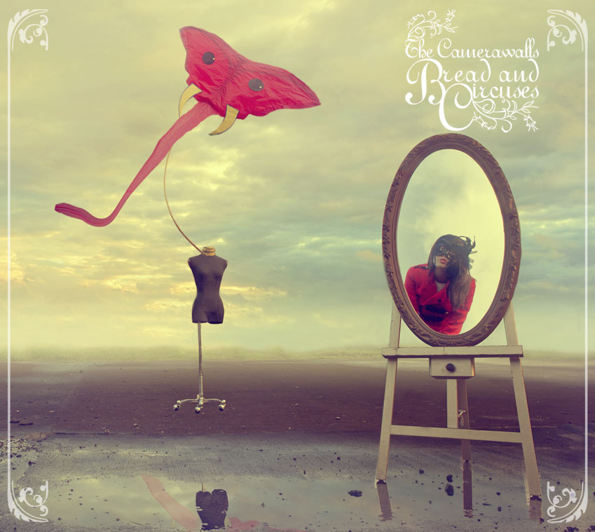 Bread and Circuses - The Camerawalls (CD EP) - LILYSTARS RECORDS